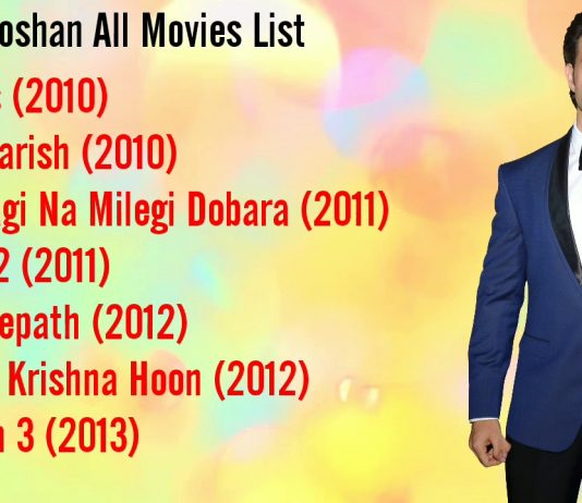 Hrithik roshan all movie list